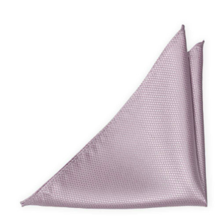 BIRDSEYE Dusty purple pochette de costume