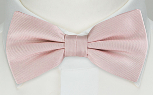SOLID Dusty pink nœud papillon